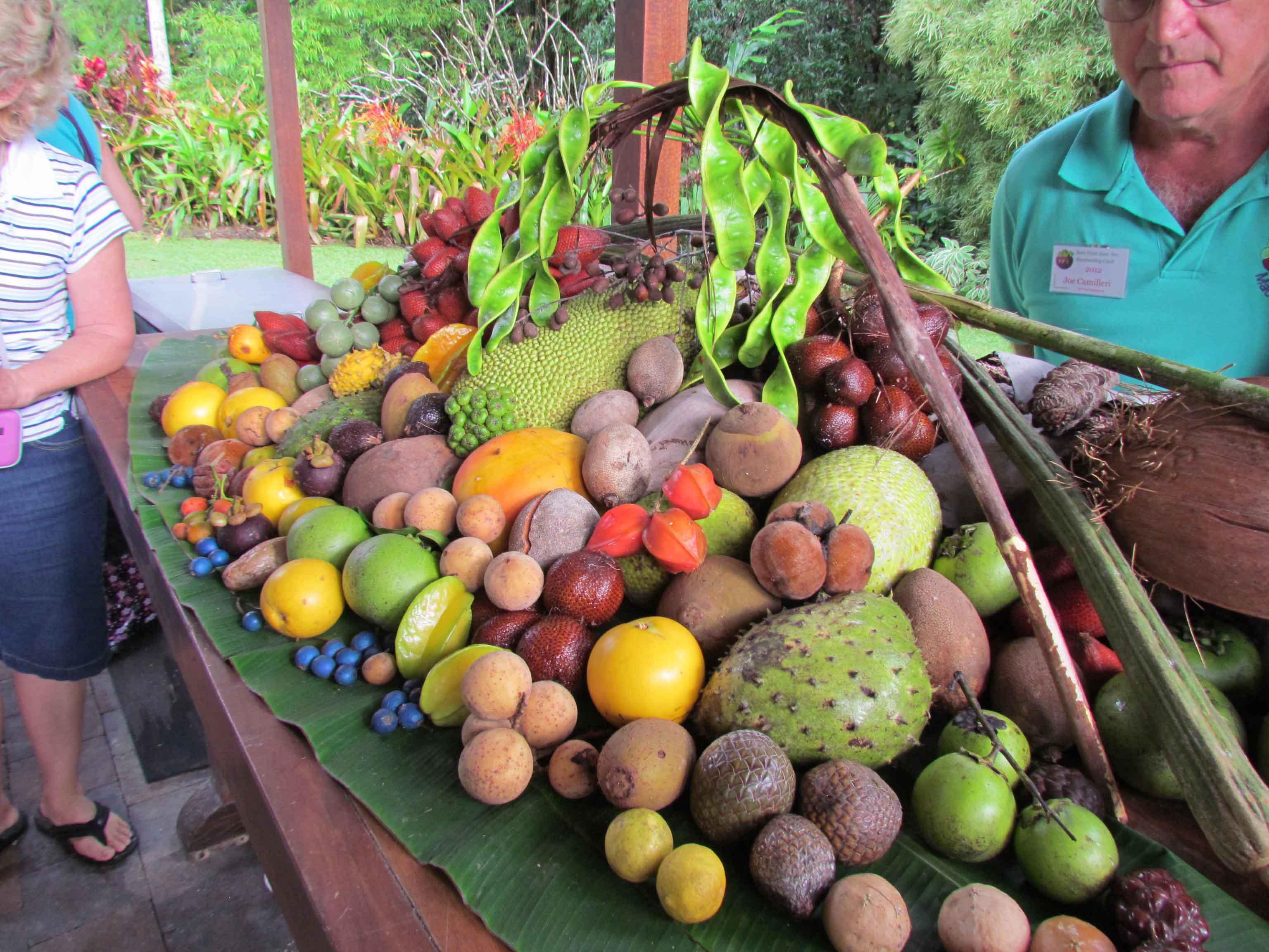 fruit display how to eat frozen fruit